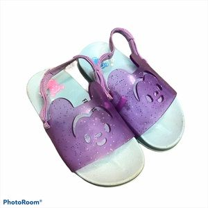 The Disney Store Mickey Mouse Sandals Purple